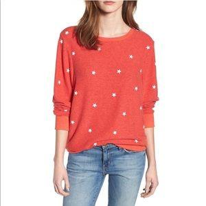 NWT WILDFOX Star Sweatshirt